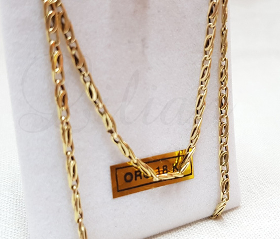 Cadena Soga Hombre Oro 18k Guliana 5,5 Grscm 60 Cm