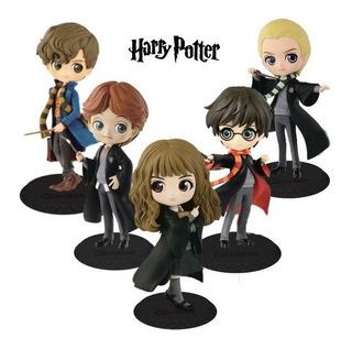 Figuras Qposket Harry Potter Hermione Net Scamander Ron