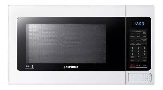 Microonda Samsung Blanco 1.1 Pies Nuevo De Paquete
