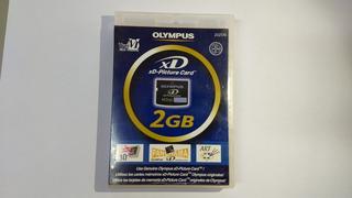 Cartão Memória Xd 2gb Para Camera Digital Olympus E Fuji