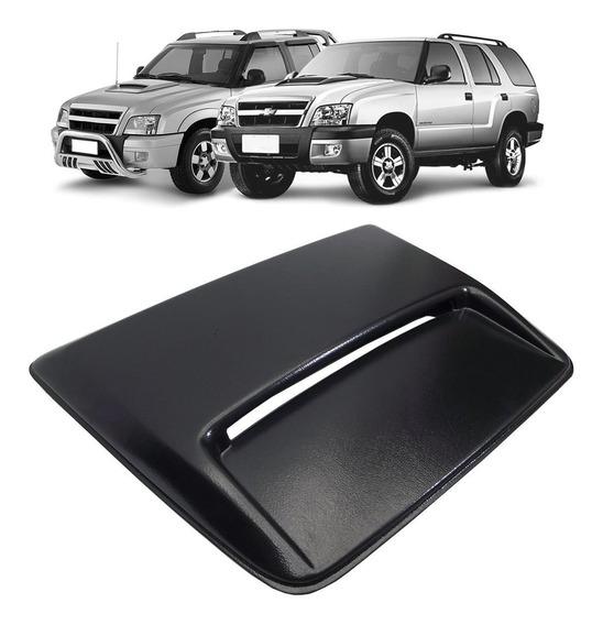 Scoop Defletor Chevrolet S10 Blazer 1995 A 2011 Entrada Tomada De Ar Bolha Aplique Do Capô