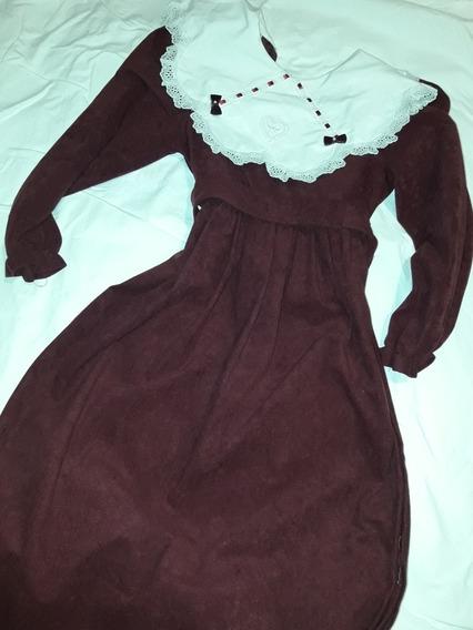 Vestido De Niña, Tela Chifón