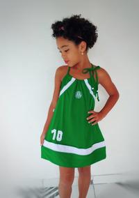 Vestido Infantil Do Palmeiras