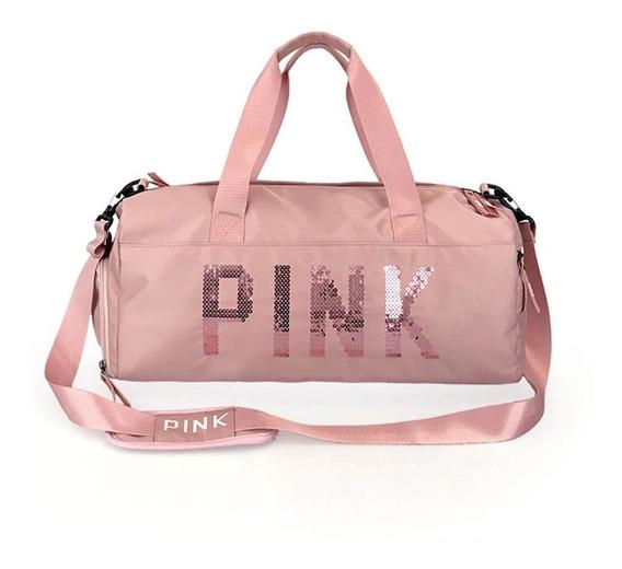 Bolsa Pink Academia Fitness Feminina Treino Prova D