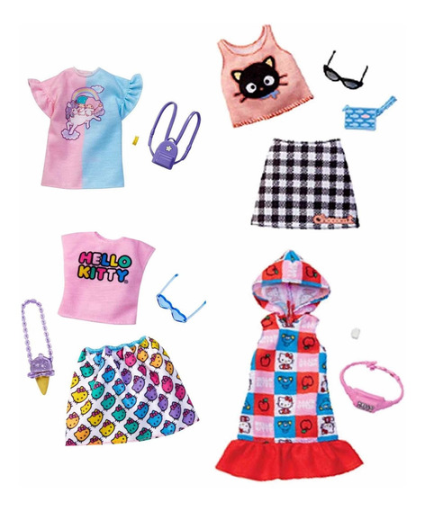 Barbie Ropa Y Accesorios Hello Kitty