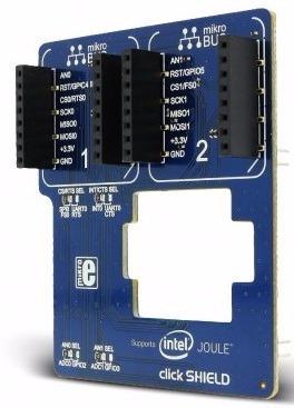 Intel® Joule Click Shield Mikroelektronika