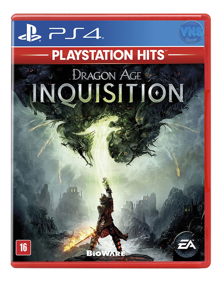 Dragon Age Inquisition - Ps4 Playstation 4 Mídia Física Novo