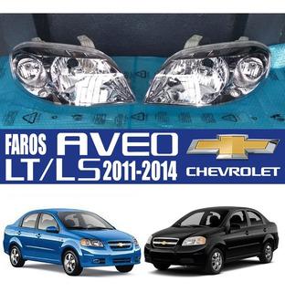 Faro De Aveo Ls/ Lt 2011 2012 2013 Thailandes