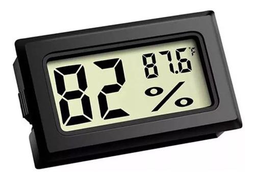 Mini Termometro Digital Con Sensor De Humedad O Higrometro