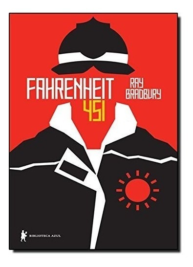 Livro Fahrenheit 451 - Nova Ortografia - Ray Bradbury