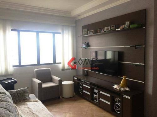 Apartamento Com 3 Dormitórios À Venda, 94 M² Por R$ 580.000 - Vila Caminho Do Mar - São Bernardo Do Campo/sp - Ap3018
