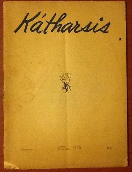 Revista Kátharsis Monterrey Año 1956