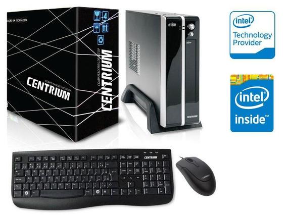 Computador Centrium Intel Dcore J3060 1.6ghz 4gb 500gb Linux