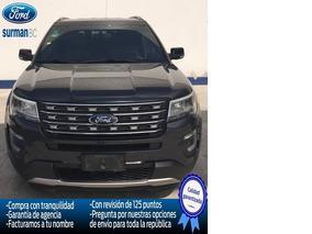 Ford Explorer Xlt 4x2 2017 Seminuevos