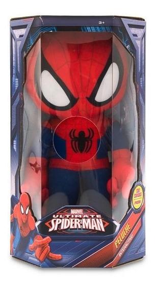 Peluche Spider Man Interactivo 12 Pulgadas