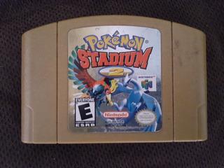 Pokemon Stadium 2 Nintendo 64 Original
