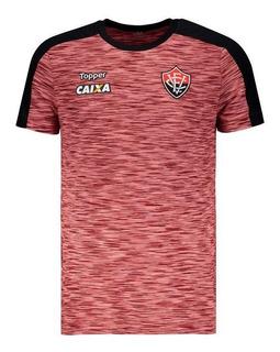 Camisa Topper Vitória Concentração Atleta 2018