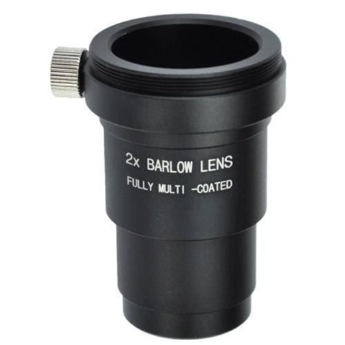 Barlow 2x Metal Vidro Multicoated Telescópio Tamanho 1.25