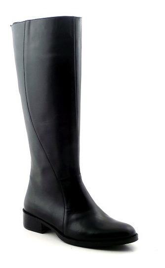 Bota Cuero Mujer Caña Alta Briganti Zapato - Mcbo24470