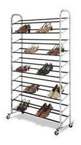 Sapateira Com Rodas Até 30 Pares De Sapatos Tênis Sandálias