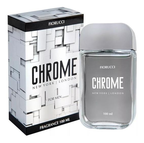 Perfume Deo Colônia Masculino Chrome 100ml Fiorucci