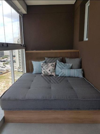Flat Com 1 Dormitório À Venda, 52 M² Por R$ 410.000 - Parque Campolim - Sorocaba/sp - Fl0015