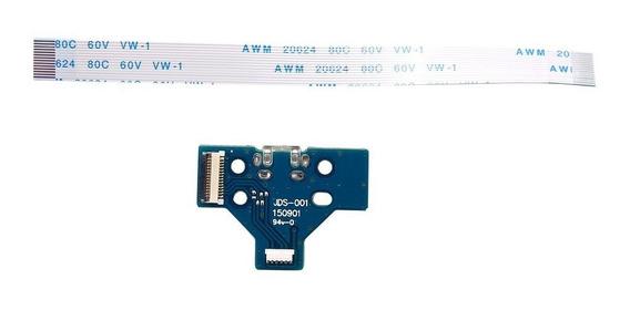 Porta De Carregamento Usb Placa 14 Pin Jds-001 Para Ps4 Cont