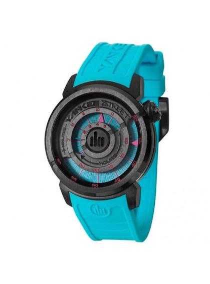 Relógio Yankee Street Unissex - Ys38196f - Cor Azul/preto