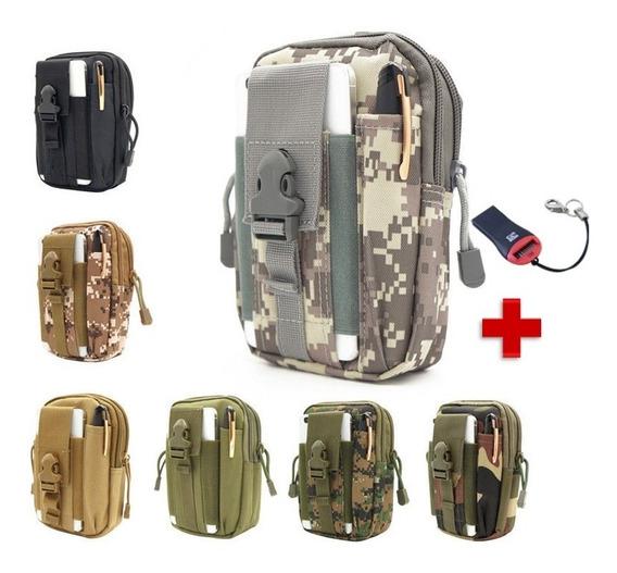 Bolsa Militar Táctica Para El Celular Sistema Molle 2full 8031s