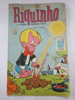 Hq Gibi Riquinho Nº 48 Ed. Rge 1971