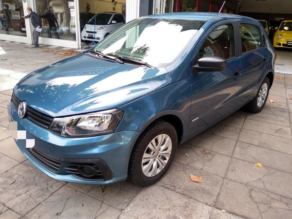 Volkswagen Gol Trend 1.6 2018 Azul Acero