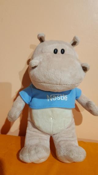 Pelucia Nestle Filhotes Hipopótamo 40 Cm