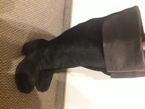 Botas Caña Alta Negras Marca Febo