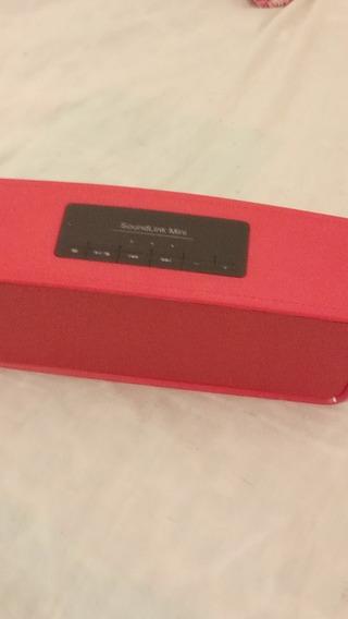 Caixinha De Som Bluetooth + Cabo V8 E P2 + Carregador Samsng