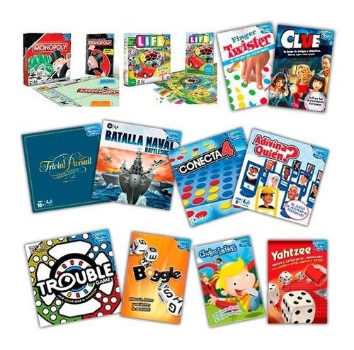 Clarín Colección Completa Juegos De Mesa Hasbro Gaming