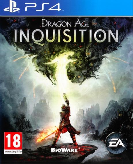 Dragon Age Inquisition Ps4 - Usado - Mídia Física