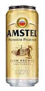 Cerveza Amstel Lata 473ml Oferta Increible! Palermo-v.crespo