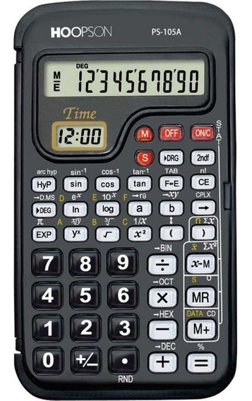 Calculadora Científica Hoopson - 56 Funções - Ps183