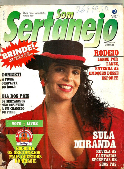 Revista Sertanejo 14/91 - Sula/elba/sergio/zezé/chitão/xoror