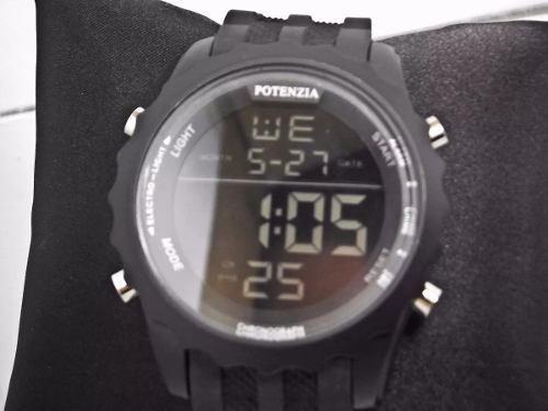 Relógio Masculino Barato Esportivo Militar Digital Potenzia