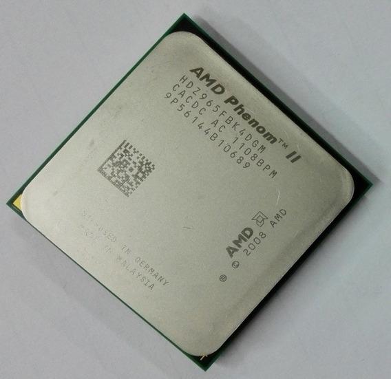 Processador Amd Phenom I I X4 965 3.4ghz Quad Core Am2+/ Am3