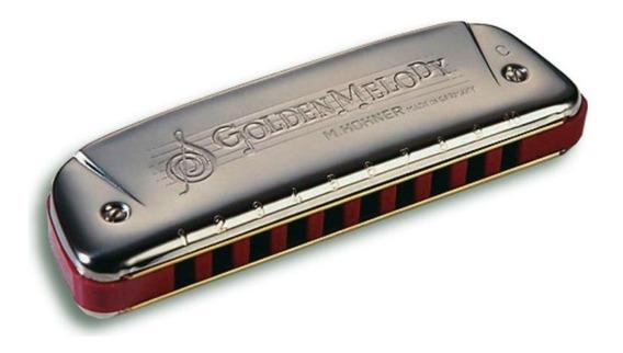 Gaita Golden Melody 542/20 C - Hohner