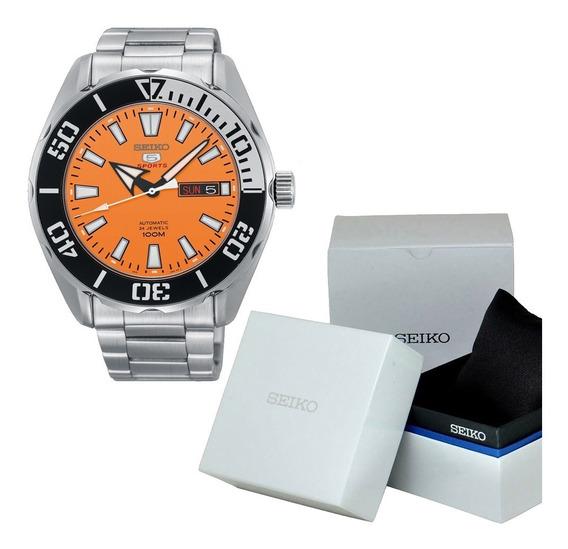 Reloj Hombre Seiko 5 Sports Srpc55k1 Automático Caballero