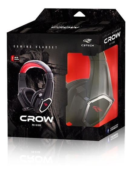 Headset Gamer C3tech Crow Ph-g100