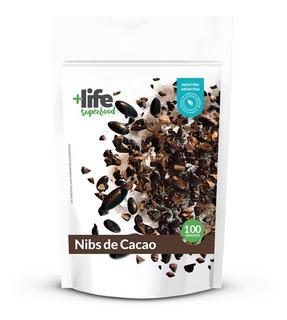Nibs De Cacao En Granos +life Energizante Superfood