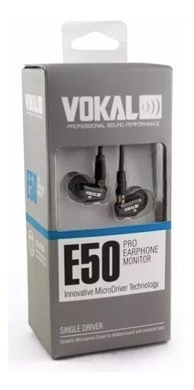 Fone De Ouvido Vokal E50 Pro In Ear Para Retorno - Oferta!