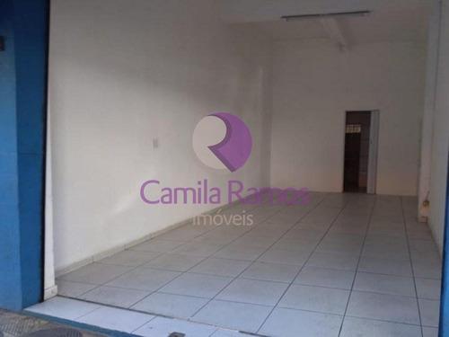Imagem 1 de 6 de Salão Comercial Para Locação, Vila Costa, Suzano/sp. - Sl00082 - 68334144