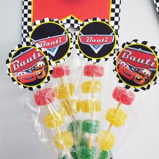 Grafica Impresa Kit Cars Candy Bar Mesa Dulce 15 Chicos