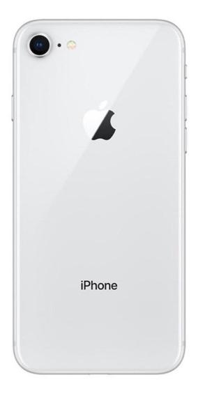 Carcaça Completa iPhone 8 Branco Apple Traseira Vidro