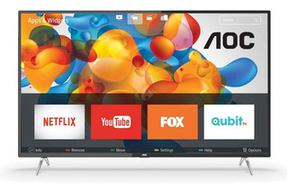 Smart Tv 50 4k Aoc 50u6295/77g Ultra Hd Tio Musa
